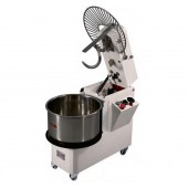 Amassadeira Espiral Monofásica Industrial de 33 Litros com Cabeça de Levantar e Regulador de Velocidades, Hp 2 (transporte incluído) - Refª 100228