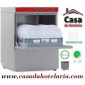 Máquina de Lavar Louça Profissional 500x500 mm (transporte incluído) - Refª 100255