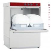 Máquina de Lavar Louça Profissional 500x500 mm Monofásica com Parede de Revestimento Duplo (transporte incluído) - Refª 100255