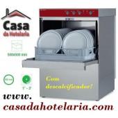 Máquina de Lavar Louça Profissional 500x500 mm com Descalcificador (transporte incluído) - Refª 100266