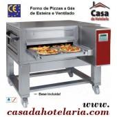 Forno de Pizzas a Gás com Esteira Ventilado (transporte incluído) - Refª 100276