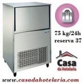 Fabricador de Cubos de Gelo Oco 75 kg/24h com Reserva de 37 kg (transporte incluído) - Refª 100315