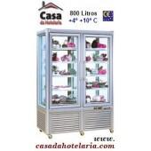 Vitrina Refrigerada de 800 Litros de 2x 5 Níveis (transporte incluído) - Refª 100330