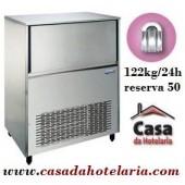 Fabricador de Cubos de Gelo Oco 122 kg/24h com Reserva de 50 kg (transporte incluído) - Refª 100347