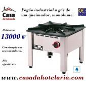 Fogão Industrial a Gás Monolume com Queimador de 13000 Watts (transporte incluído) - Refª 100414