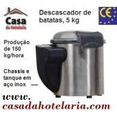 Descascador de Batatas Automático 5 Kg, Produção de 150 kg/hora (transporte incluído) - Refª 100531