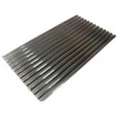 Grelha 1/2 em Forma de V, dimensões de 370x640x30 mm (LxPxA) - Refª 100601