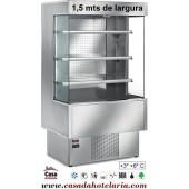 """Armário Mural Refrigerado """"Todo Inox"""" com 1,5 m de Largura (transporte incluído) - Refª 100623"""