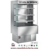 """Armário Mural Refrigerado """"Todo Inox"""" com 1,8 m de Largura (transporte incluído) - Refª 100624"""