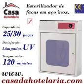 Esterilizador de Facas, 25/30 peças (transporte incluído) - Refª 100835