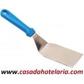 Paleta Rectangular de Aço Inox com Cabo em Plástico - Refª 100886