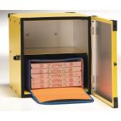 Caixa para Entrega de Pizzas com 405x410x500 mm (LxPxA) para Fixação à Moto (transporte incluído) - Refª 100905