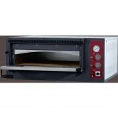 Forno de Pizzas Industrial Elétrico Trifásico de 1 Câmara para 4 pizzas de Ø 330 mm, 4700 Watts, +50º +500º C (transporte incluído) - Refª 100944