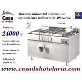 Marmita Industrial Eléctrica de Aquecimento Indirecto de 200 Litros da Linha 900 (transporte incluído) - Refª 100959