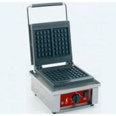 Máquina de Waffles de 2 Pedaços 4x6, potência de 1500 Watts, 0º a +300º C (transporte incluído) - Refª 101176
