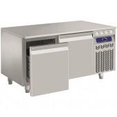 Bancada Refrigerada da Linha 600 com 2 Gavetas com Alta Capacidade de Carga, Temperatura -2º +8º C, 160 Litros (transporte incluído) - Refª 101266