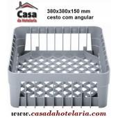 Cesto de 380x380 mm com Angular - Refª 101378