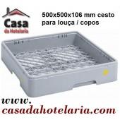 Cesto de 500x500 mm para Louça / Copos - Refª 101394