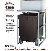 Carro Contentor para Reserva de Gelo de 108 kg (transporte incluído) - Refª 101443