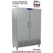 Armário Refrigerado Ventilado Industrial de 1100 Litros, 0º +8º C (transporte incluído) - Refª 101445