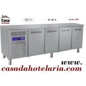 Bancada Refrigerada GN 1/1 de 550 Litros da Linha 700 (transporte incluído) - Refª 101453