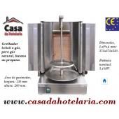 Grelhador Kebab a Gás para 5 kg (transporte incluído) - Refª 101562