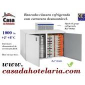 Bancada - Câmara Refrigerada Desmontável, 1000 Litros (transporte incluído) - Refª 101624