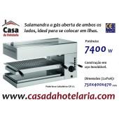 Salamandra Industrial a Gás Aberta de Ambos os Lados de Alta Qualidade, Potência de 7400 Watts (transporte incluído) - Refª 101702