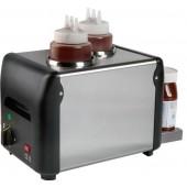 Aquecedor de Chocolate Monofásico de 2x 1 Litro, Temperatura 0º a +90º C (transporte incluído) - Refª 101718