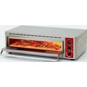 Forno de Pizzas Elétrico Monofásico para Tabuleiro 600x400 mm ou 2 Pizzas com Ø 330 mm, 5000 Watts, 0º +350º C (transporte incluído) - Refª 101719