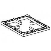 Grelha em Ferro Fundido Suplementar, Dimensões 300x340x40 mm (LxPxA) - Refª 101807