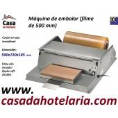 Máquina para Embalar em Inox para Filme de 500 mm de Largura (transporte incluído) - Refª 101829