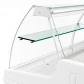 Prateleira Intermédia em Vidro para Vitrina Refrigerada de 1 Metro - Refª 101835