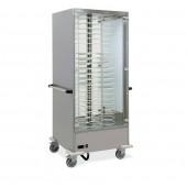 Estufa para 88 Pratos com Ø 240 - 310 mm, Temperatura +65º +90º C (transporte incluído) - Refª 101838