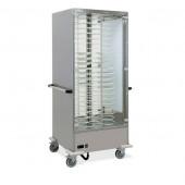Estufa para 40 Pratos com Ø 240 - 310 mm, Temperatura +65º +90º C (transporte incluído) - Refª 101840