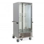 Armário Refrigerado para 64 Pratos com Ø 180 - 240 mm, Temperatura +4º +10º C (transporte incluído) - Refª 101845