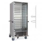 Armário Refrigerado Monofásico com 15 Grelhas, +4º +10º C (transporte incluído) - Refª 101851