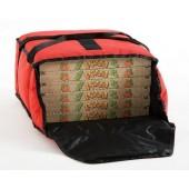 Saco Térmico para 5 Caixas de Pizzas até Ø 330 mm - Refª 101909