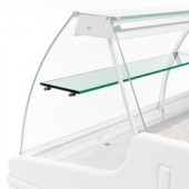 Prateleira Intermédia em Vidro para Vitrina Refrigerada de 1,5 Metros (transporte incluído) - Refª 101982
