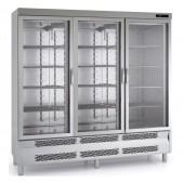 Armário de Congelação com 3 Portas de Vidro, 1750 Litros, Temp. -15º - 20º C (transporte incluído) - Refª 102075