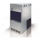 Máquina Fabricador de Gelo Granulado, Produção de 60 kg/24h com Reserva de 10 kg, Condensação Ar - Refª 102189
