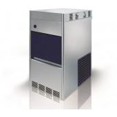 Máquina Fabricador de Gelo Granulado, Produção de 100 kg/24h com Reserva de 20 kg, Condensação Ar - Refª 102190