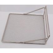 Suporte para Cestos de Fritadeiras em Rede de Aço com 253x384x115 mm (LxPxA) - Refª 102246