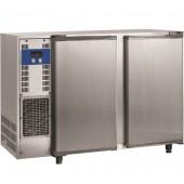 Bancada Refrigerada para Garrafas em Aço Inoxidável com 2 Portas e Capacidade para 375 Litros, +1º +8º C (transporte incluído) - Refª 102290
