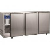 Bancada Refrigerada para Garrafas em Aço Inoxidável com 3 Portas e Capacidade para 579 Litros, +1º +8º C (transporte incluído) - Refª 102291