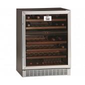 Armário Refrigerado Ventilado, Adega para Vinhos com Capacidade para 160 Litros com 2 Temperaturas Independentes, +5° +10° / +10° +18° C (transporte incluído) - Refª 102329