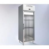 Armário Refrigerado Industrial Ventilado em Inox GN 1/1 de 438 Litros da Linha 600 com Porta de Vidro, Temperatura +3º +6º C (transporte incluído) - Refª 102366