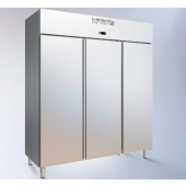 Armário Refrigerado Industrial Ventilado em Inox de 1481 Litros com 3 Portas da Linha 700, Temperatura +3º +6º C (transporte incluído) - Refª 102376