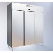 Armário Refrigerado Industrial Ventilado em Inox de 1153 Litros com 3 Portas da Linha 700, Temperatura +3º +6º C (transporte incluído) - Refª 102382