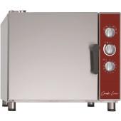 Forno Industrial Elétrico de Regeneração Trifásico para 5x GN 1/1 com Humidificação, Temperaturas 120°/160° C e mantém a 50° C, 5000 Watts (transporte incluído) - Refª 102420